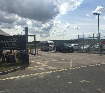 Southampton Cruise Parking Entrance
